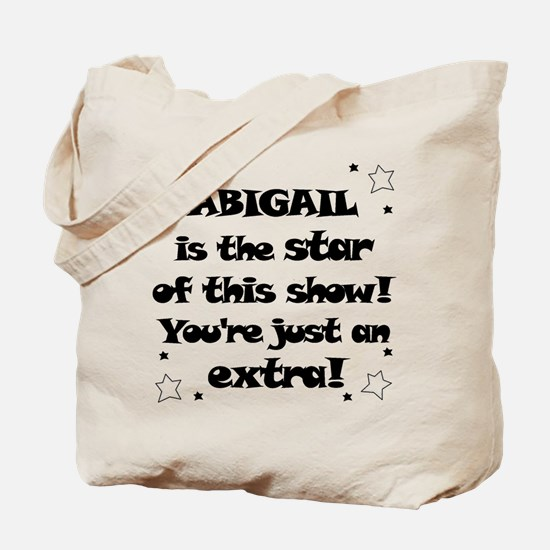Abbigail is the Star Tote Bag