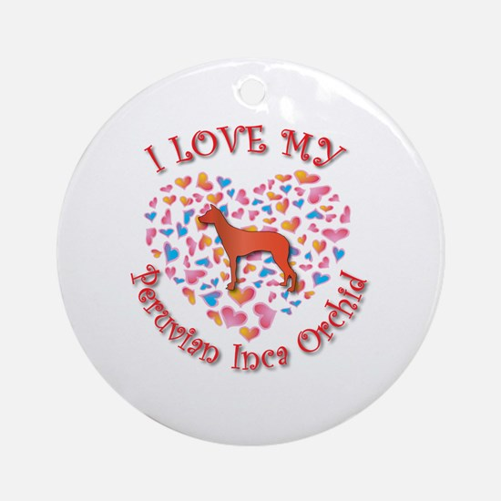 Love PIO Ornament (Round)