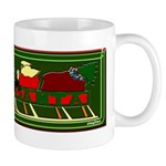 Christmas Santa's Deliverin' Mug