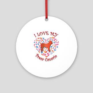 Love Presa Ornament (Round)