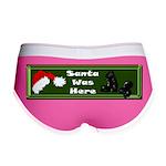 Christmas Santa's Deliverin' Women's Boy Brief