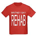 The Original Britney Say Reha Kids Dark T-Shirt