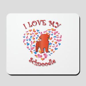 Love Schnoodle Mousepad