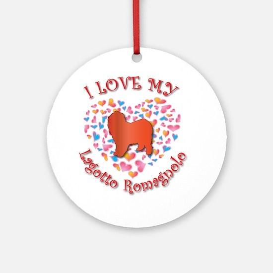 Love Lagotto Ornament (Round)