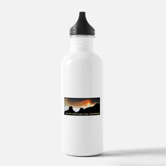 Veni Vidi Video Water Bottle