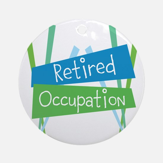 Customize Retired Round Ornament