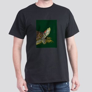 Lively Red Eared Slider Dark T-Shirt
