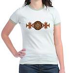 Celtic Knotwork Enamel Jr. Ringer T-Shirt