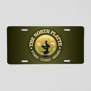 North Platte Aluminum License Plate