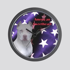 American Sweetheart Wall Clock