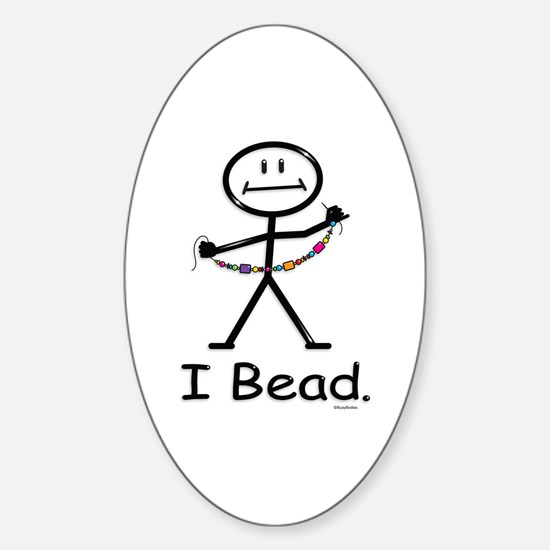 Beading Oval Decal