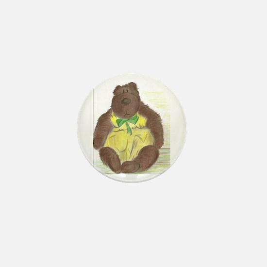Butter Bear Mini Button