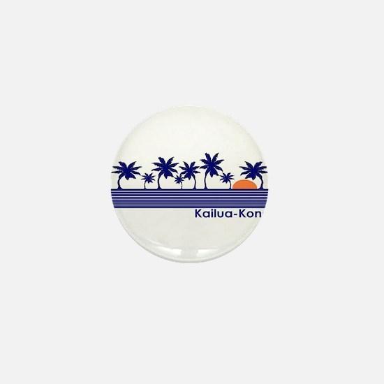 Kailua-Kona, Hawaii Mini Button
