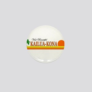 Visit Beautiful Kailua-Kona, Mini Button