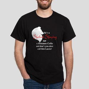 He's NOT a Collie Dark T-Shirt