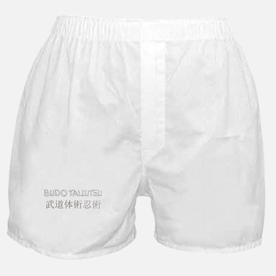 Sliver Taijutsu Boxer Shorts