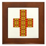 Megalithic Cross Framed Tile