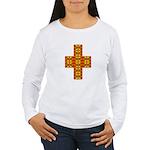 Megalithic Cross Women's Long Sleeve T-Shirt