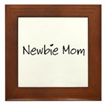 Newbie Mom Framed Tile