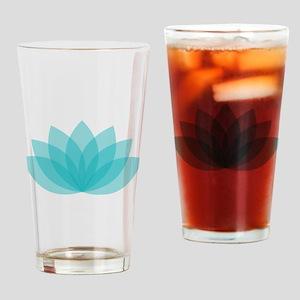 Lotus Blossom Drinking Glass