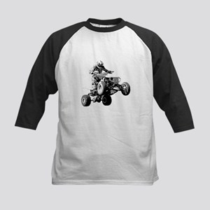 ATV Racing Kids Baseball Jersey