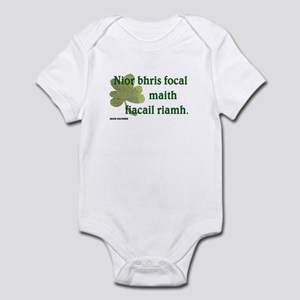 Paddy says...A good word Infant Bodysuit