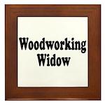 Woodworking Widow Framed Tile