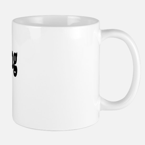 Woodworking Widow Mug