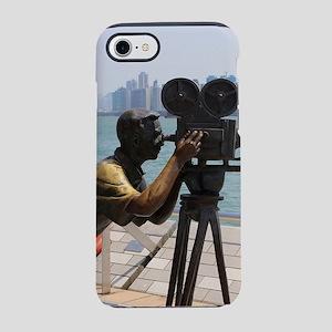 Movie cameraman sculpture, Hon iPhone 7 Tough Case