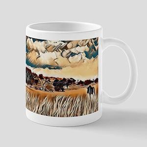 Kalahari landscape Mugs