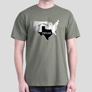 Texas / Not Texas Dark T-Shirt