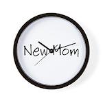 New Mom Wall Clock