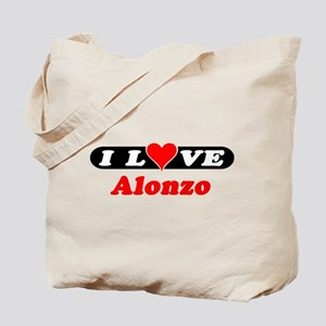 I Love Alonzo Tote Bag