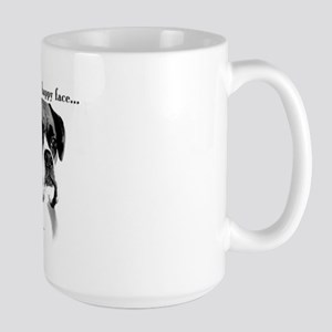 Boxer Happy Face Large Mug