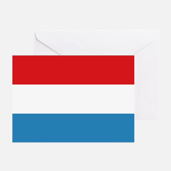 Luxembourg Flag Greeting Cards (Pk of 10)