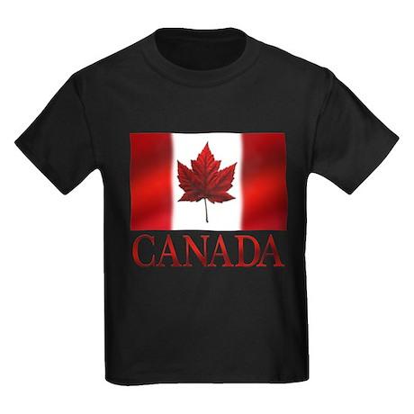 Canada Souvenir Kid's T-shirt Maple Leaf Gifts Art