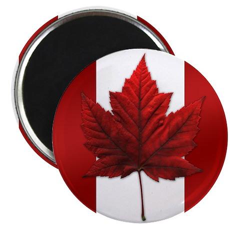 Canada Flag Maple Leaf Art Magnet 100 Souvenir