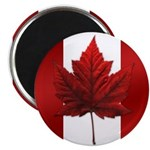 Canada Flag MAple Leaf Art Magnet 10 pack Souvenir