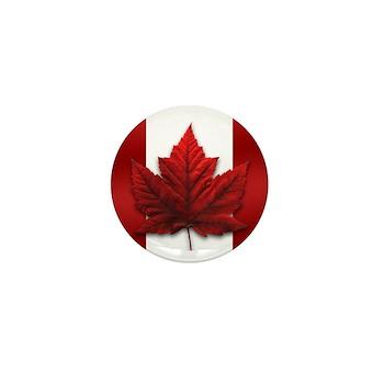 Canada Souvenir Mini Button (10 pack)