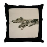 The Greyhounds Throw Pillow