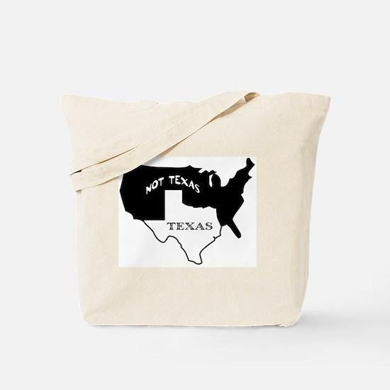 Texas / Not Texas Tote Bag