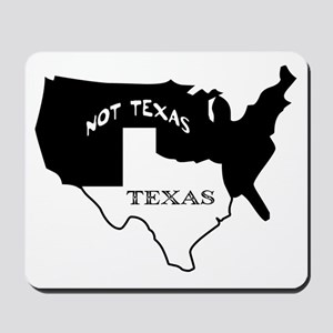 Texas / Not Texas Mousepad