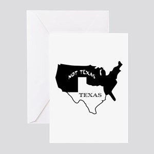 Houston texas greeting cards cafepress texas not texas greeting cards pk of 10 m4hsunfo