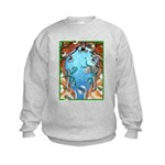 """Dolphin View"" Kids Sweatshirt"
