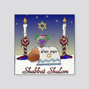Judaica Shabbat Shalom Sticker