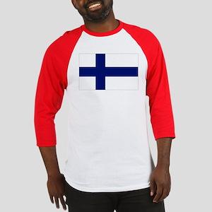 Finland Flag Baseball Jersey