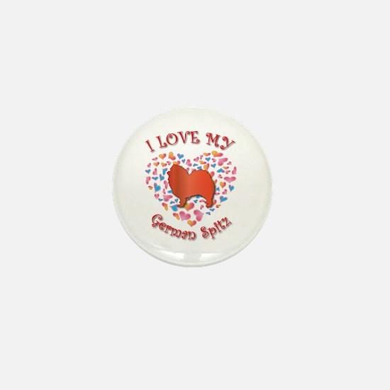 Love Spitz Mini Button