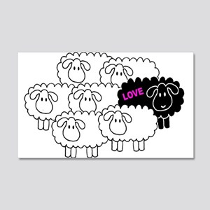 Black Sheep (Love) | 20x12 Wall Decal