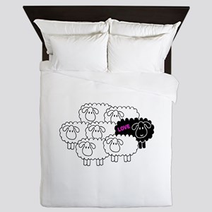 Black Sheep (Love) | Queen Duvet
