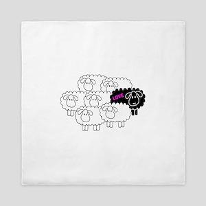 Black Sheep (Love) | Queen Duvet